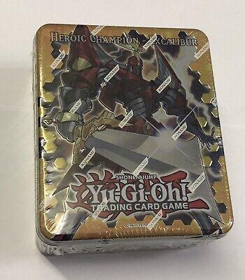 Yu-Gi-Oh Collectible Tin Heroic Champion Excalibur English Factory Sealed