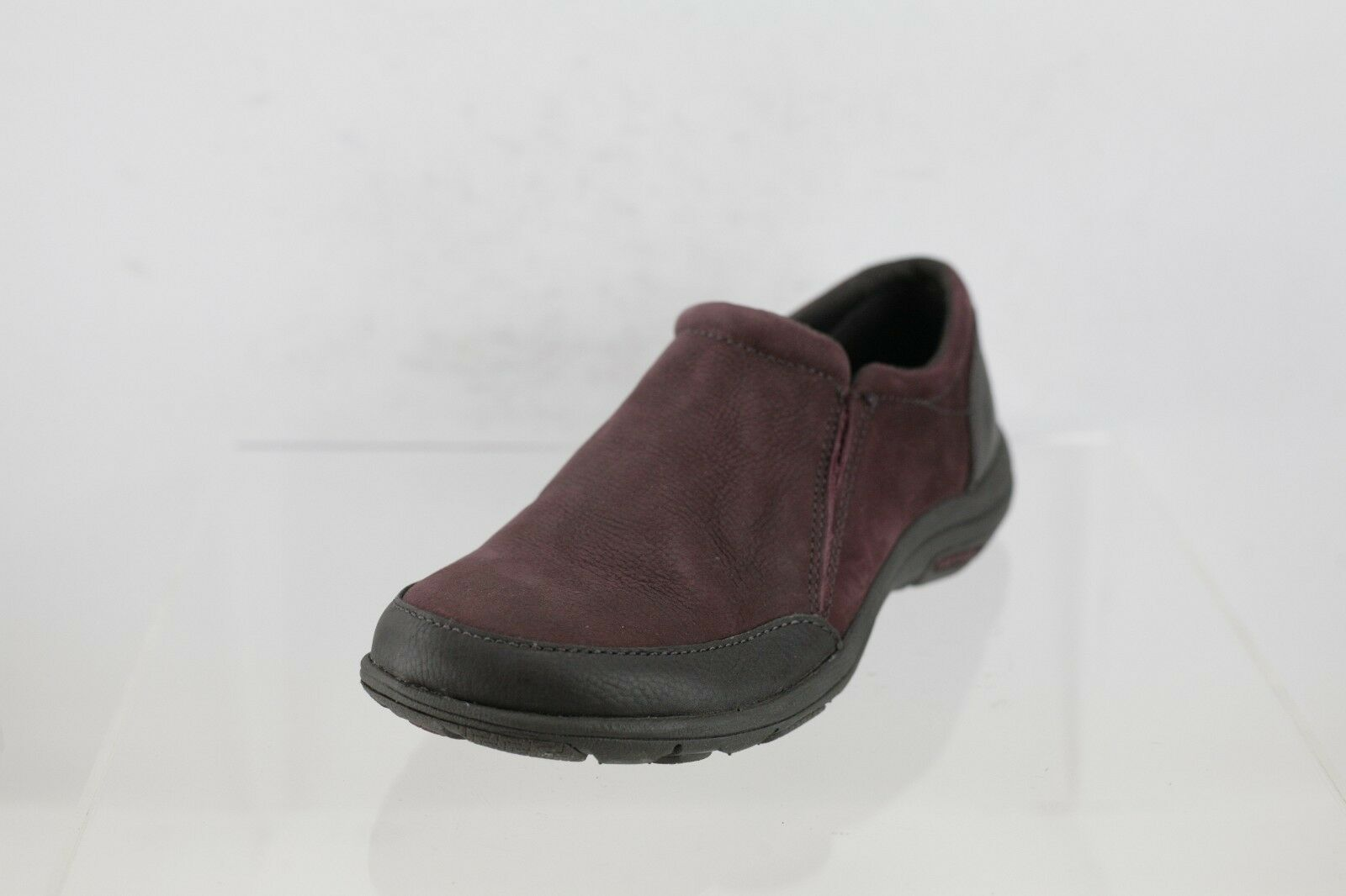 Merrell Dassie Deep Red Leather Slip-On Women's Shoes Size 5 M NEW