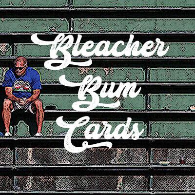 Bleacher Bum Cards