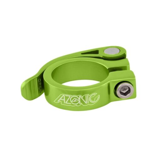 Azonic Bicycle Seat Clamp Gonzo 34.9mm Green Model 3034-205