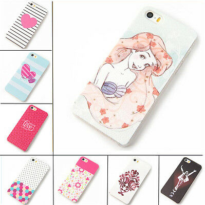 """Lovely Various Grind Arenaceous Paint Hard Case Cover for iphone 5 5s 5c 6 4.7"""""""