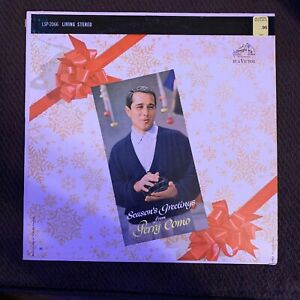Perry Como - Season's Greetings From -  RCA OG vinyl LP vintage 1959 Christmas