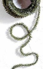Dollhouse Miniature 12 Feet of Green Balsam Garland or Roping