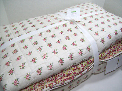 Pottery Barn Maisie Floral Cotton Sham Multiple Avail King Standard Euro