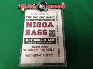 Def-Soul-amp-LSD-N-a-Bass-Hip-Hop-SEALED-NEW-Cassette-Piranha-Records