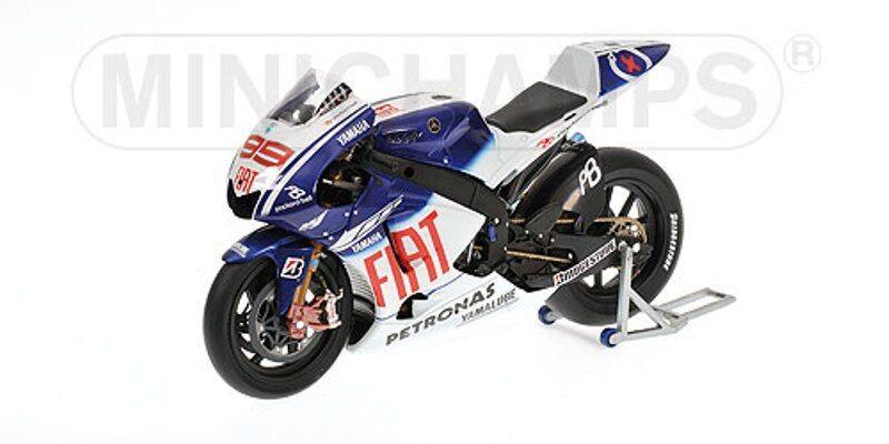 MINICHAMPS 122 093099 YAMAHA YZR M1 model bike Jorge Lorenzo MotoGP 2009 1 12th