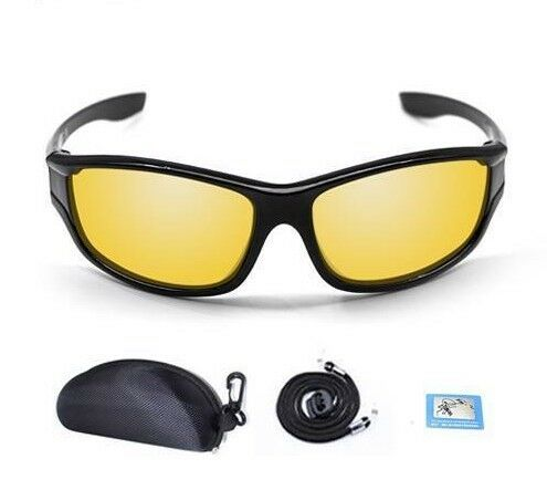 Polarized Sunglasses Fishing Yellow Brown Lenses Eyewear For Men Women Sport New