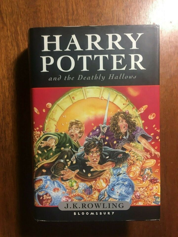 Harry Potter and The Deathly Hallows, J. K. Rowling, genre: