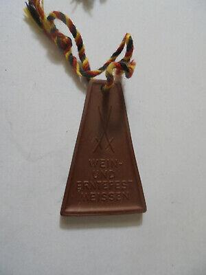 Rational 31202 Meissen Medaille Böttgersteinzeug Wein- Und Erntefest Medal Stoneware Ein GefüHl Der Leichtigkeit Und Energie Erzeugen