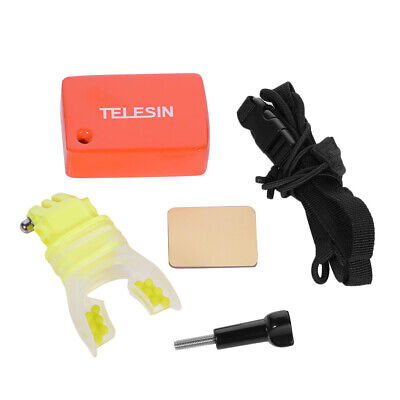 Surfing Mouth Mount Set Braces Connector for GoPro Hero 7 6 5 4 3+//3 YI SJCAM