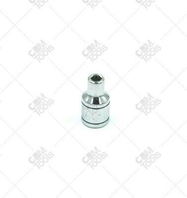"""SK Hand Tools 40906 1//4/"""" Dr 3//16/"""" 6pt Standard Fractional Chrome Socket"""