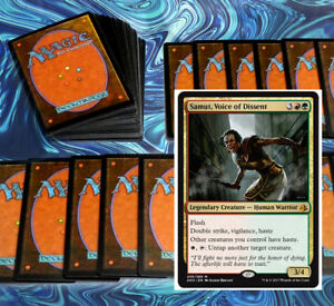 mtg-RED-GREEN-DECK-Magic-the-Gathering-rare-60-cards-samut-honored-hydra-AMON
