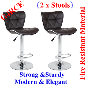 Phenomenal Details About High Quality Pu Leather Kitchen Breakfast Barstools Bar Stool Swivel Gas Lift Uk Pdpeps Interior Chair Design Pdpepsorg