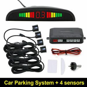 Parkhilfe//Rückfahrwarner Einparkhilfe 4 Sensoren zum Nachrüsten hinten PDC