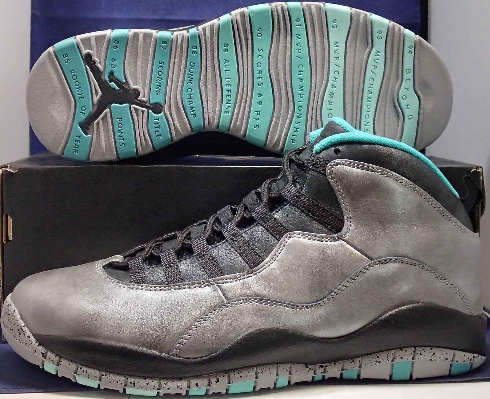 2015 Nike Air Jordan 10 X Retro 30. Freiheitsstatue SZ 11 (705178-045)