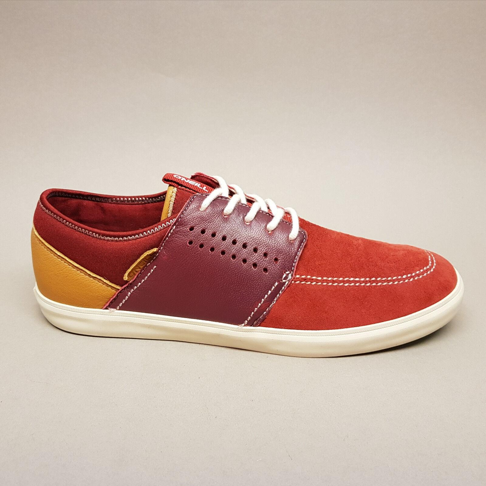 O'Neill Mutant Sneaker Burgundy Suede 59.1098.01 F36 Sneaker Mutant Halbschuh rot  40  43  45 16d394