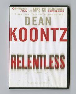 Relentless-by-Dean-Koontz-MP3CD-Audiobook