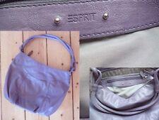 Esprit Tasche Shopper Girl Henkeltasche Reissverschluss Violett lila Wie Neu