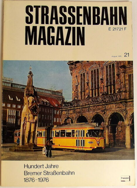 Tram Magazine Booklet 21 August 1976, S.162-240 Franckh's Che Publisher