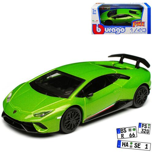Lamborghini brochure performante Coupe verde modelo a partir de 2014 versión a partir de 2017 1//43 B