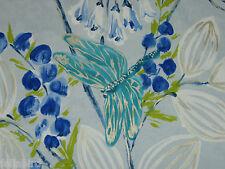 """DESIGNERS GUILD CURTAIN FABRIC DESIGN """"Kimono Blossom"""" 0.90 METRE  DELFT"""