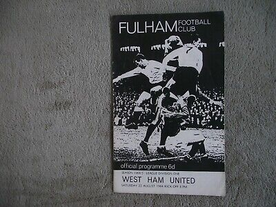 1964//65 Football League WEST HAM UNITED v LIVERPOOL 27th February