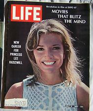1967 Life Magazine Princess Lee Radziwell 7/14/67