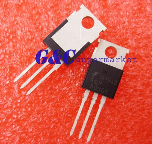 10PCS FQP30N06 FSC MOSFET N-CH 60V 30A TO-220 NEW good quality