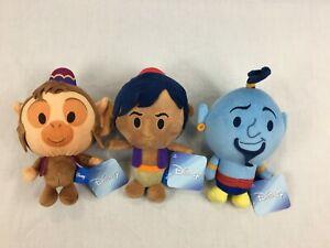 New-With-Tags-Aladdin-Abu-amp-Genie-Plush-Disney-20cm