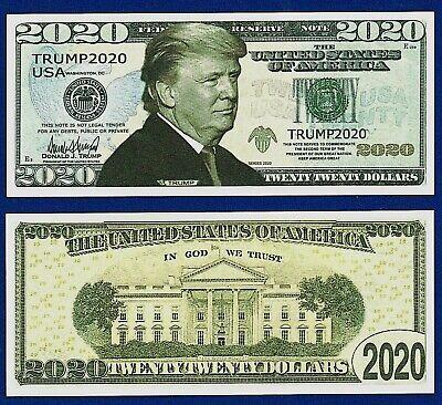 5 President Donald Trump Team Dollar Bills 45TH Republican Fun Noventy Gift  G3