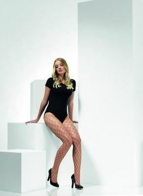 Uk Size 6-18 #ca Price Remains Stable Fever Hosiery Special Section Brugandy Diamond Net Tights
