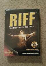 Riff: The Music Trivia DVD Game  (DVD / HD Video Game NEW SEALED IN BOX