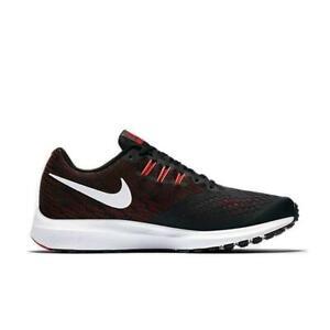 e03c4be5f La imagen se está cargando Hombre-Nike-Zoom-Winflo-4-Negro-Zapatillas- Running-