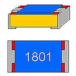 SMD-Widerstand  5,6 KOhm 1/% 0,125 W Bauform 0805 gegurtet