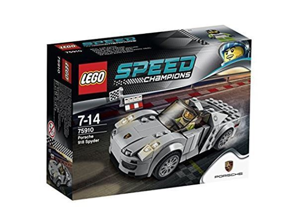 Sealed LEGO Speed Champions 75910 Porsche 918 Spyder NEW FREE SHIP AUTHENTIC