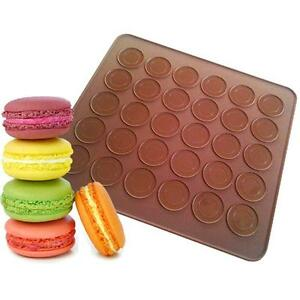 one-Sided-Silicone-Macaron-Macaroon-Mat-Baking-Sheet-Cookies-Cakes-Coffee-JzD