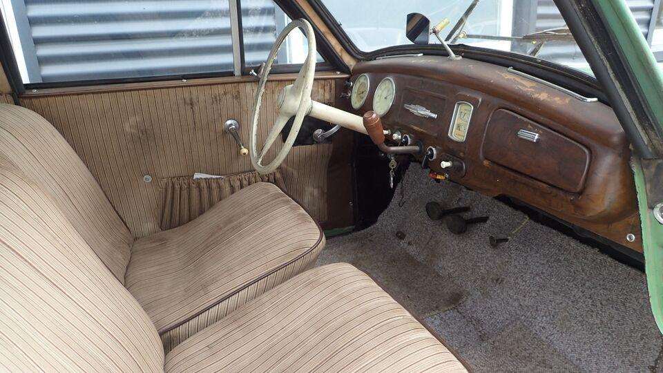 IFA F9 0,9 Benzin modelår 1954 km 1000 Grøn
