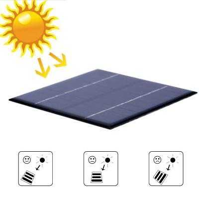 9V 2W Solar Panel Module DIY For Light Battery Cell Phone Toys Chargers 11.5cm