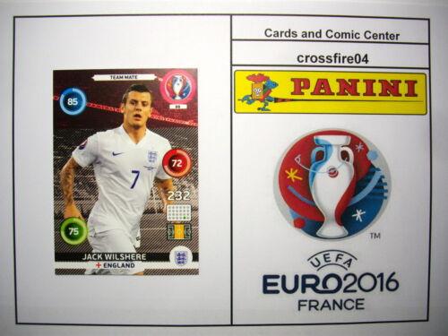 France Panini Adrenalyn em euro 2016-Inglaterra España todas las tarjetas nº 82-135