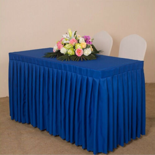 Elegant Tablecloth Rectangular Clean Table Cloth Table Skirt Party Wedding Decor