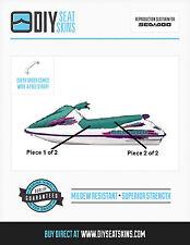 SEA DOO TEAL SEAT SKIN GTS GTI GTX 90 91 92 93 94 95 96
