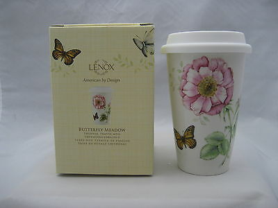 Lenox Butterfly Meadow Thermal Travel Mug New 837583 Ebay
