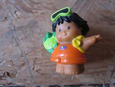 Fisher Price Little People boy beach turtle vacation summer swim boat sea scuba