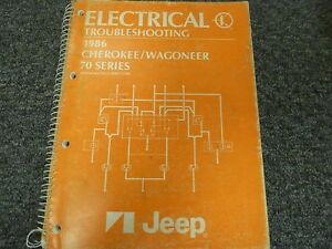 [SCHEMATICS_48EU]  1986 Jeep Cherokee Wagoneer Electrical Wiring Diagram Troubleshooting  Manual | eBay | 1986 Jeep Cherokee Wiring Diagram |  | eBay
