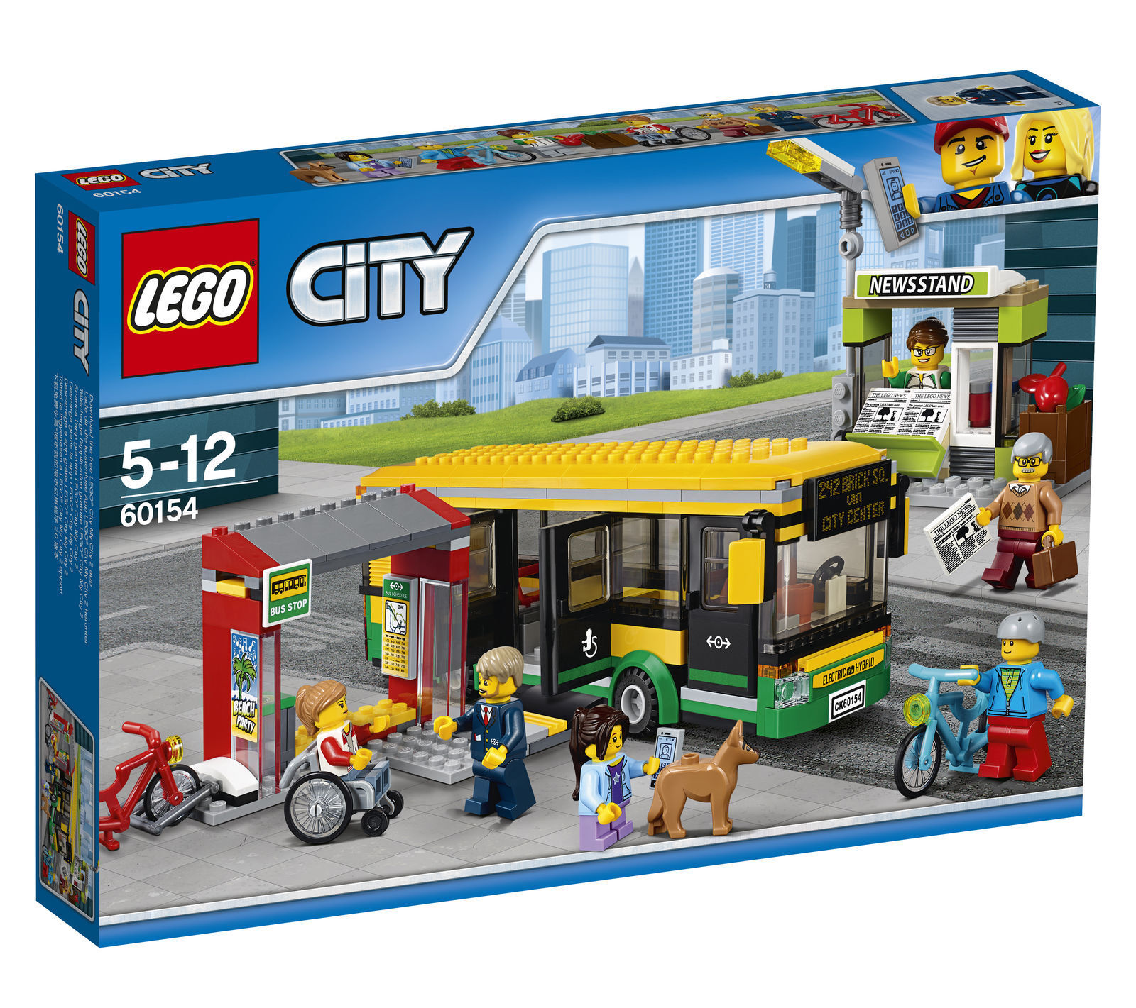 LEGO City Bus Station 60154 Brand New and Sealed Post Free