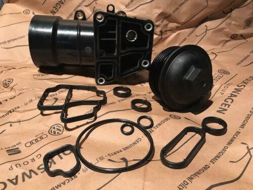 Filtre à Huile Boîtier Kit Complet Avec Joints 8 pieces Skoda 1.6 2.0 TDI 03L11538