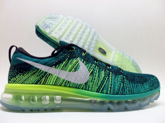 size 40 e70d9 07702 Nike Flyknit Air Max Mens Running Trainers 620469 SNEAKERS Shoes Size 11  Medium (d M)