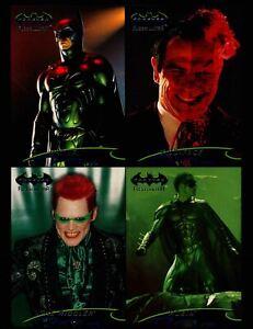 Batman Forever Fleer Ultra 4 card promo