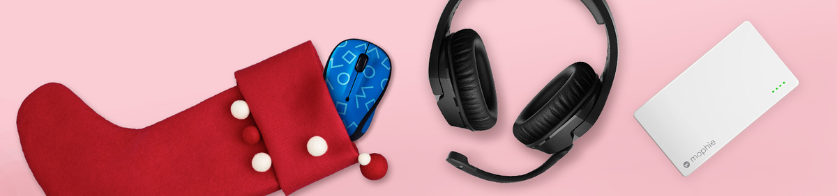 Shop Event Tech-cessories Under $50  Phone cases, headphones, and more.