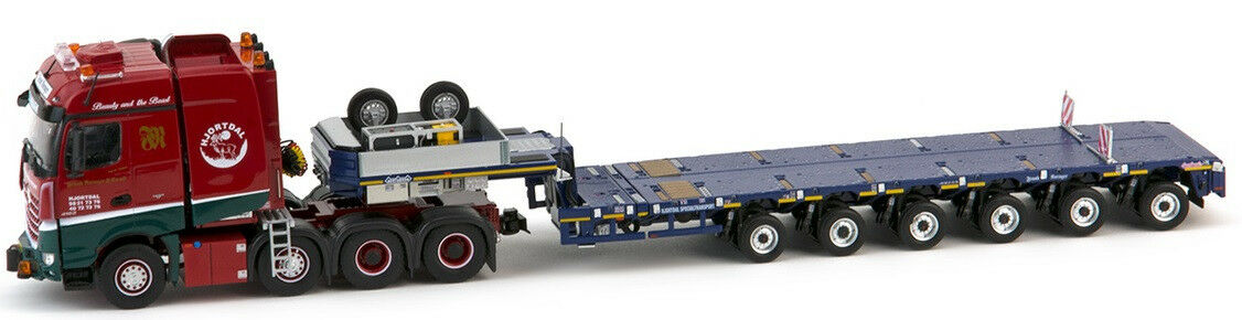 IMC32-0015 - Camion MERCEDES Arocs 8x4 8x4 8x4 avec semi NOOTEBOOM 6 essieux surbaissée a7380f